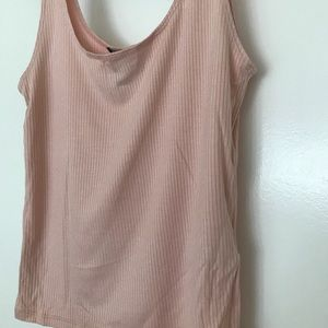 Light soft baby pink tank top from Forever 21.
